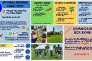 Monari Summer Camp 2021: iscrizioni al via per il centro estivo Monari!